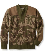 Commando Sweater, Camouflage Henley