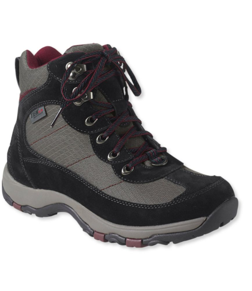 photo: L.L.Bean Women's Waterproof Snow Sneakers 3, Mid Lace-Up