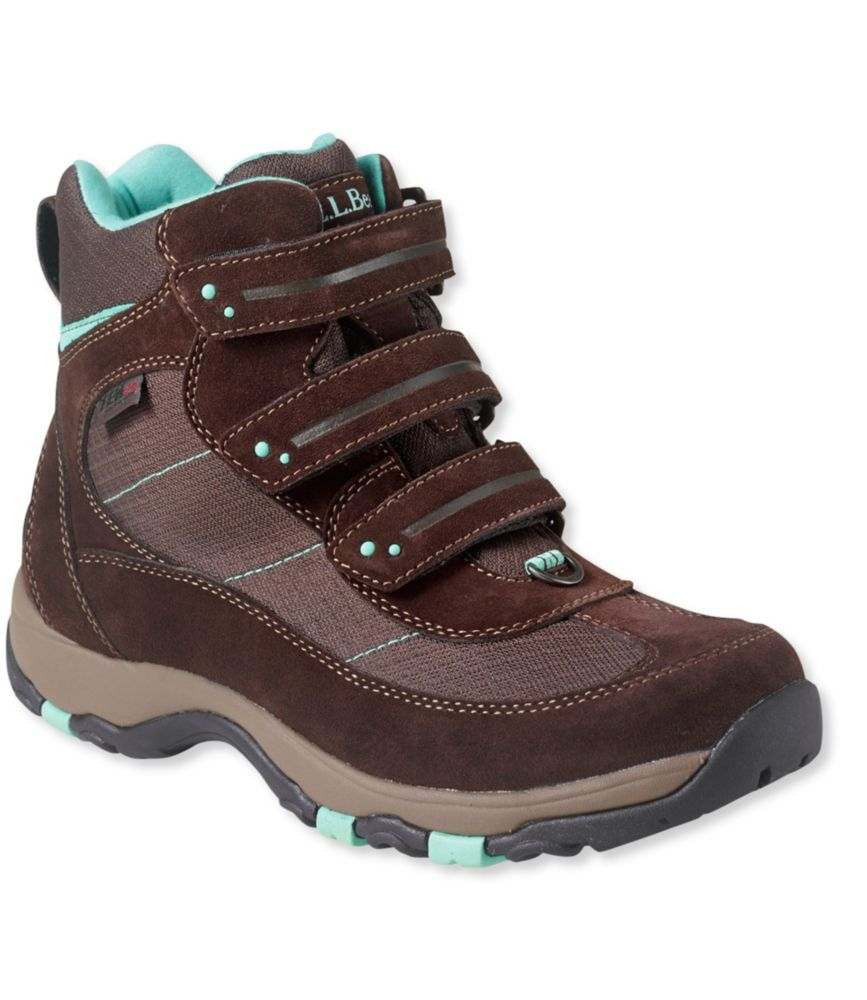 L.L.Bean Waterproof Snow Sneakers, Hook-And-Loop Closure