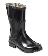 Women's L.L.Bean Wellies Rain Boots, Mid