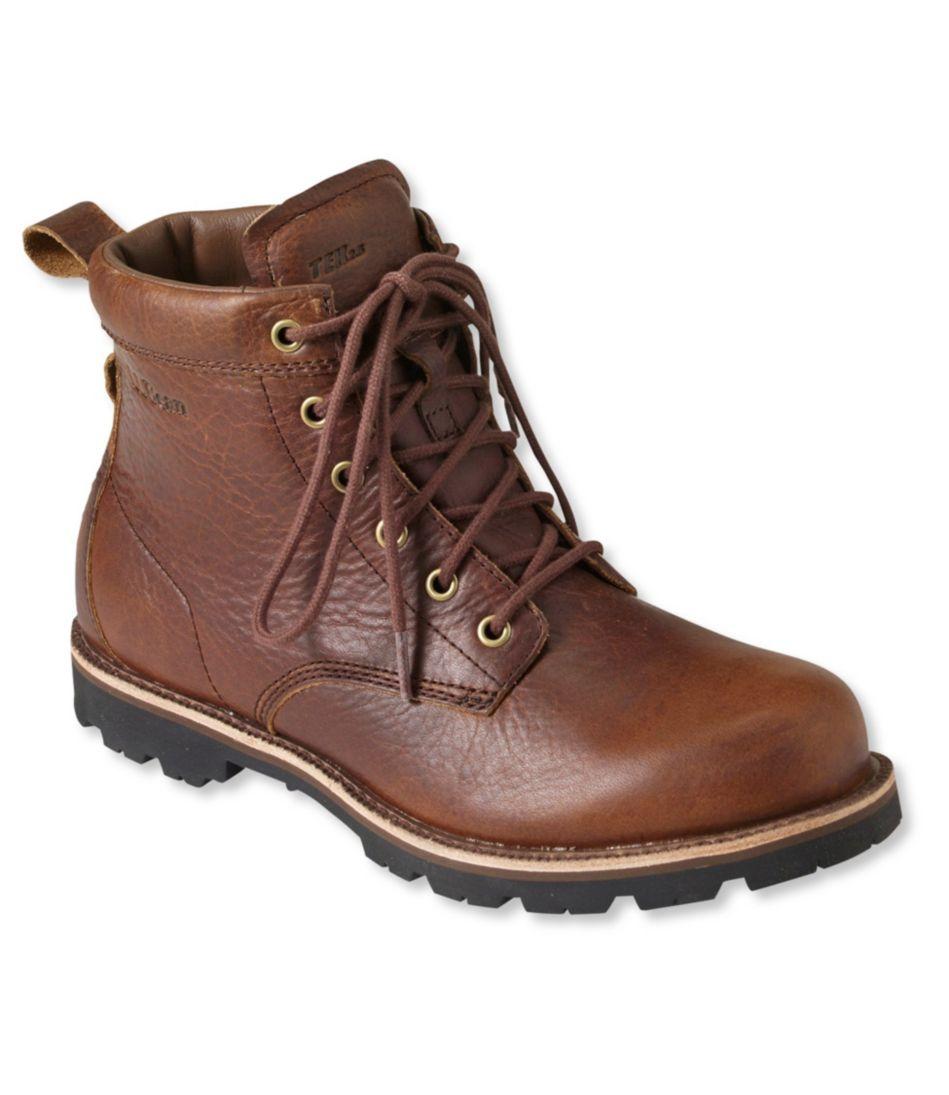Men's East Point Waterproof Boots, Plain Toe