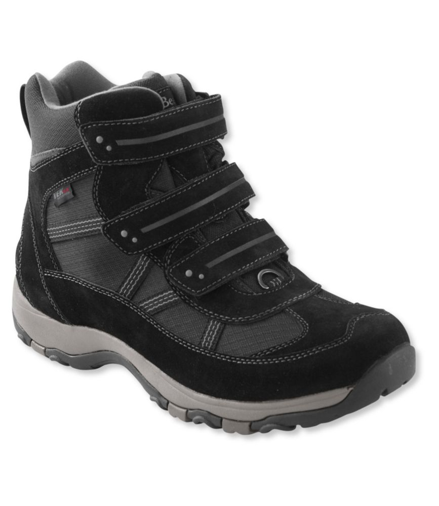 L.L.Bean Waterproof Snow Sneakers 3, Mid Hook-Loop