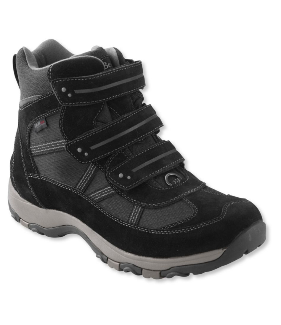 Men's Waterproof Snow Sneakers 3, Mid Hook-Loop