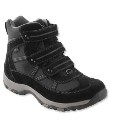 Men's Waterproof Snow Sneakers 3, Mid Hook-Loop