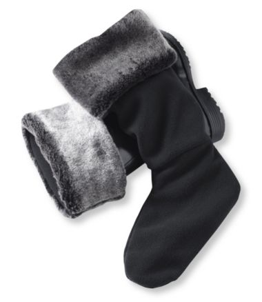 Women's Wellie Warmers, Faux Fur Mid