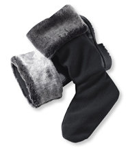 Men's Wellie Warmer Faux Fur, Mid