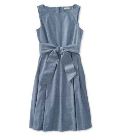 Signature Chambray Dress