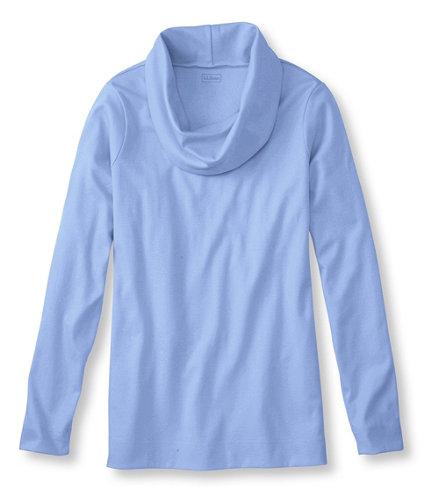 Women S Pima Cotton Tunic Long Sleeve Cowlneck Free