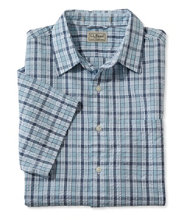 Men's Rocky Coast Shirt, Slightly Fitted Check