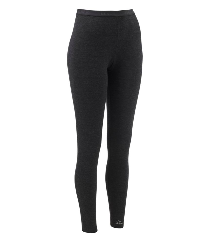 photo: L.L.Bean Women's Cresta Wool Midweight Base Layer, Pants base layer bottom