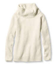 Cozy Boucle Sweater Pullover Cowlneck Misses Regular