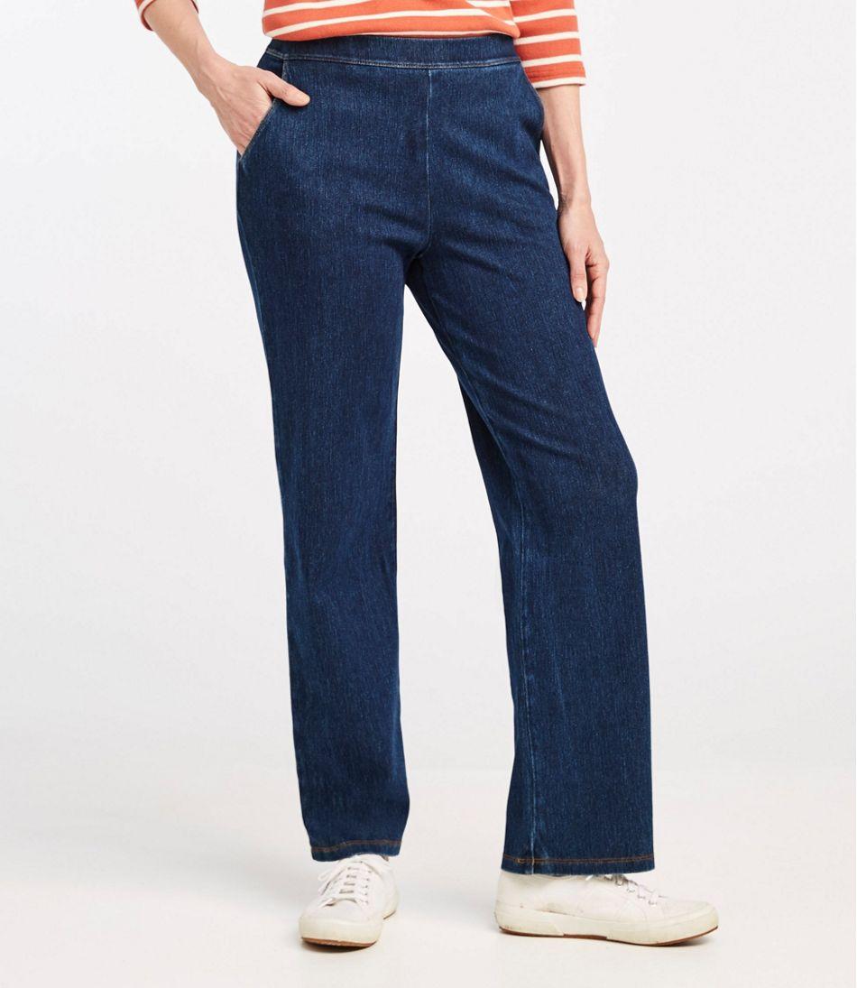 Perfect Fit Pants, Straight-Leg Denim