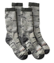 Cresta Wool Hiking Socks, Midweight Print Two-Pack