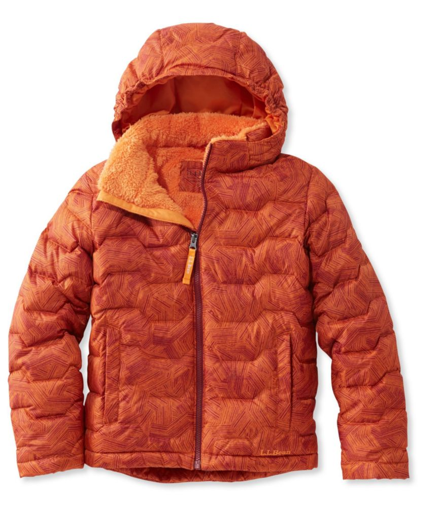 photo: L.L.Bean Fleece-Lined Down Jacket, Print down insulated jacket