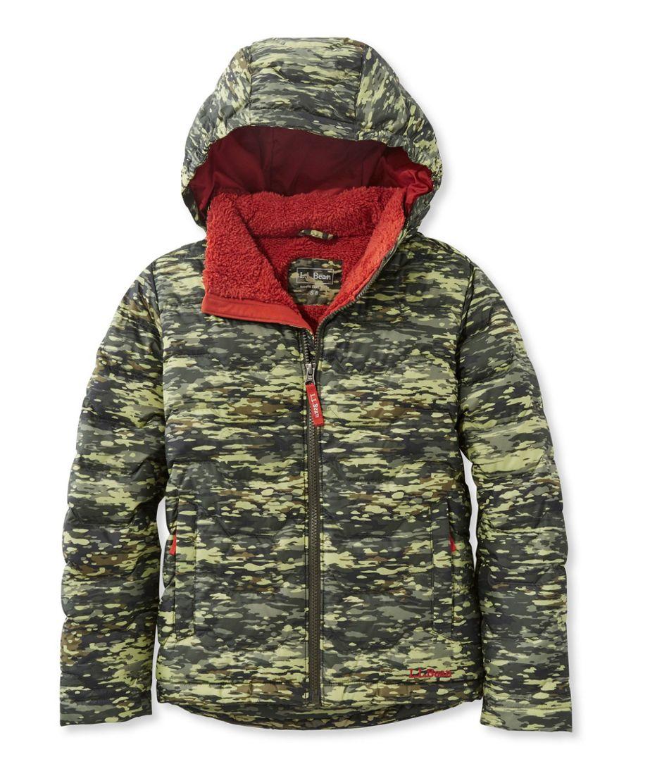 3c4e43d42 Boys  L.L.Bean Fleece-Lined Down Jacket
