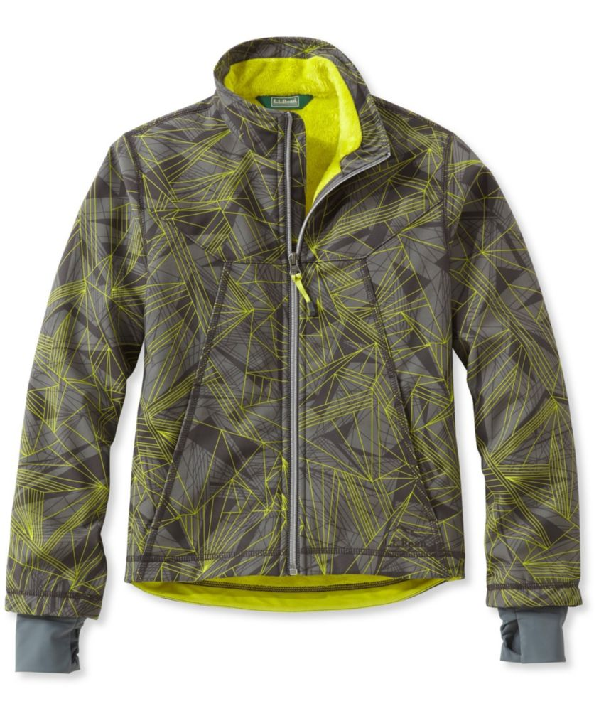 photo: L.L.Bean Wonderfleece Soft-Shell Jacket, Print soft shell jacket