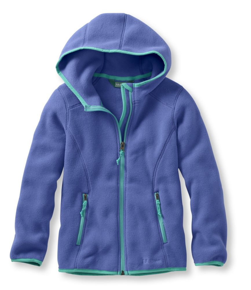 photo: L.L.Bean Kids' Trail Model Fleece Hooded Jacket