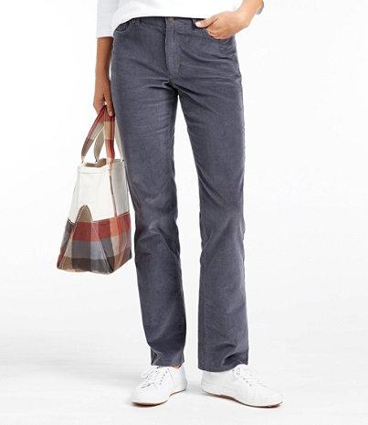 Women's Casco Corduroy Pants, Straight-Leg | Free Shipping at L.L.Bean
