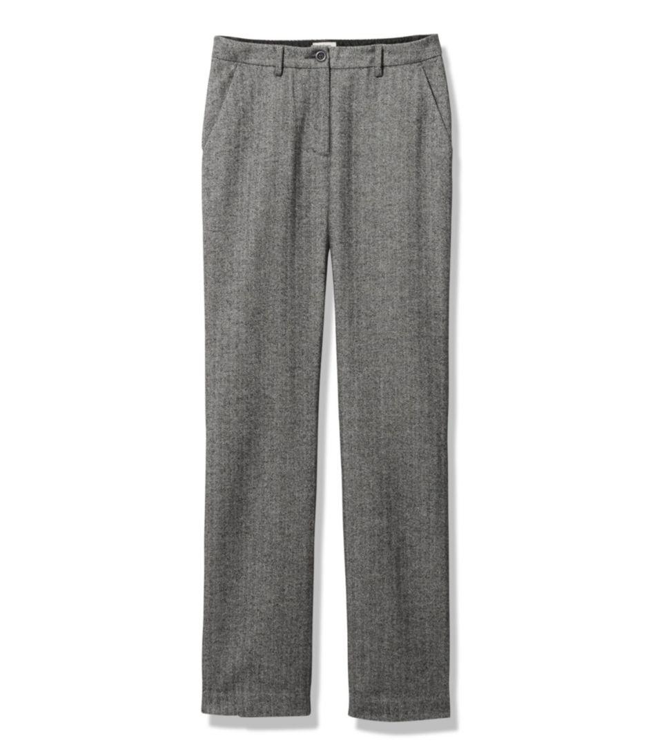 Weekend Pants, Herringbone