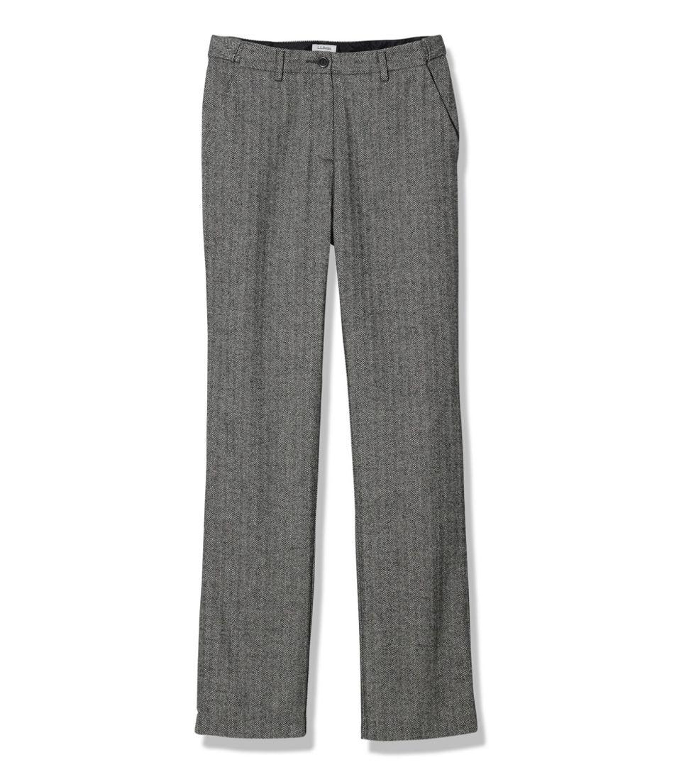 Weekend Pants, Hidden Comfort Waist Herringbone