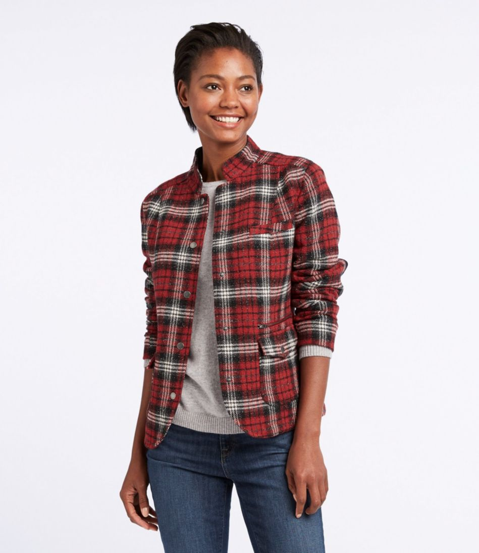 Stonington Jacket, Plaid