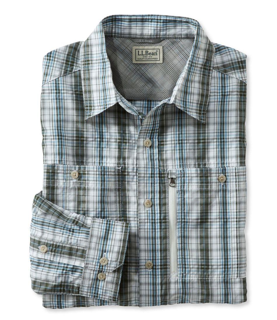 Men's Cool Weave Shirt, Plaid