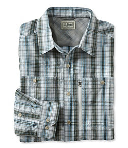 Men's Cool Weave Shirt, Plaid