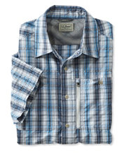 Cool Weave Shirt, Short-Sleeve Plaid