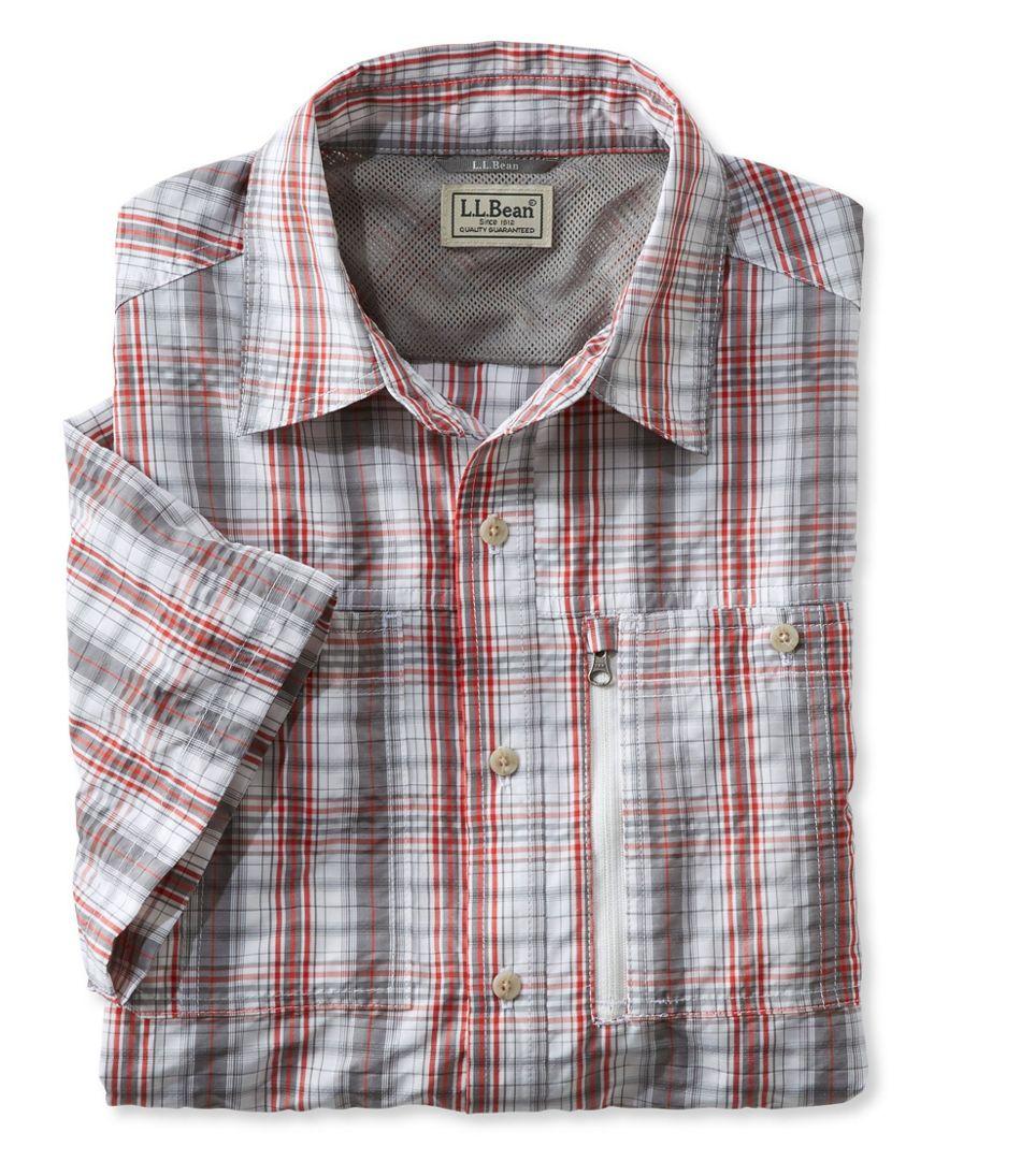 Cool Weave Shirt, Short-Sleeve Plaid