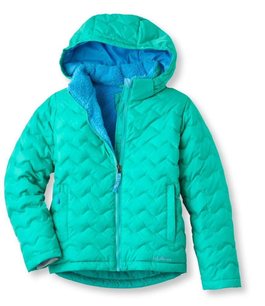 L.L.Bean Fleece-Lined Down Jacket