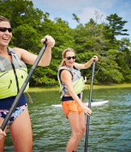 Women's-Only Stand-Up Paddle Boarding Discovery Course