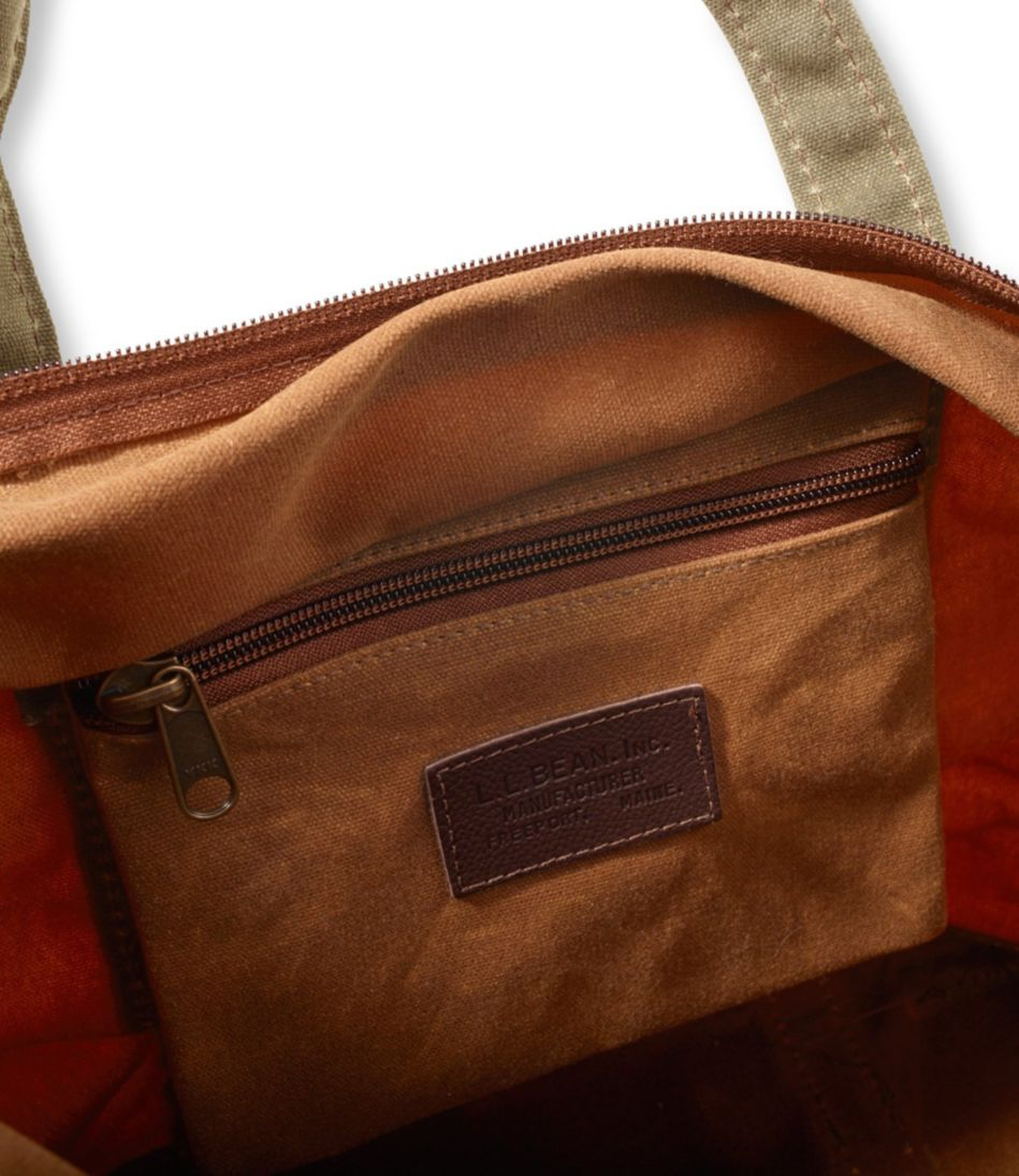 Waxed-Canvas Boat and Tote