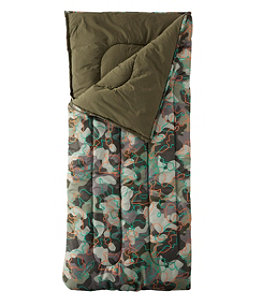 Adults' Camp Sleeping Bag, Graphic 40°