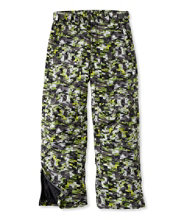 Boys' Glacier Summit Waterproof Pants, Print