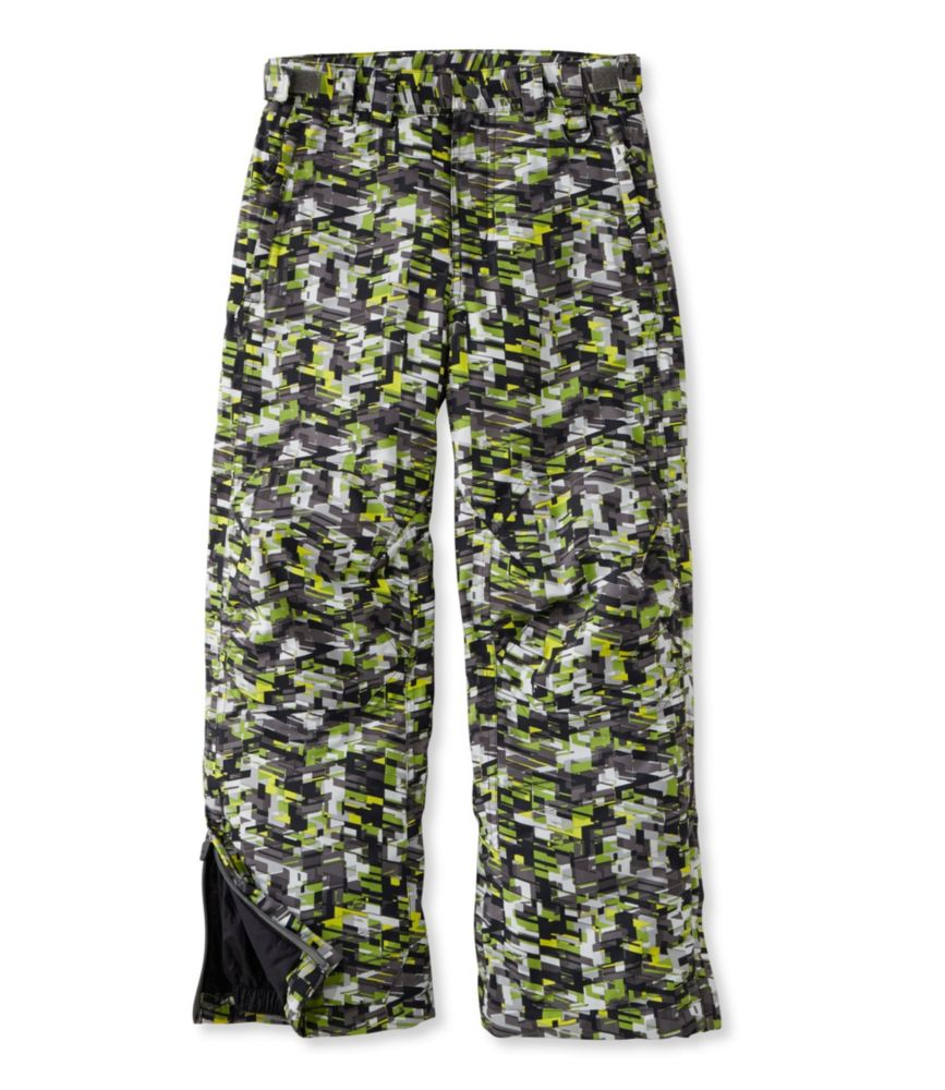 photo: L.L.Bean Boys' Glacier Summit Waterproof Pants synthetic insulated pant