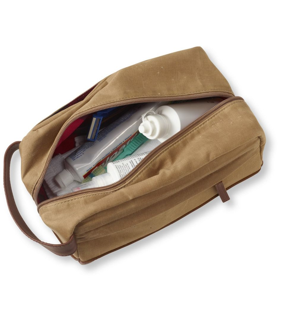 802858ec6c21 Heritage Waxed-Canvas Toiletry Kit