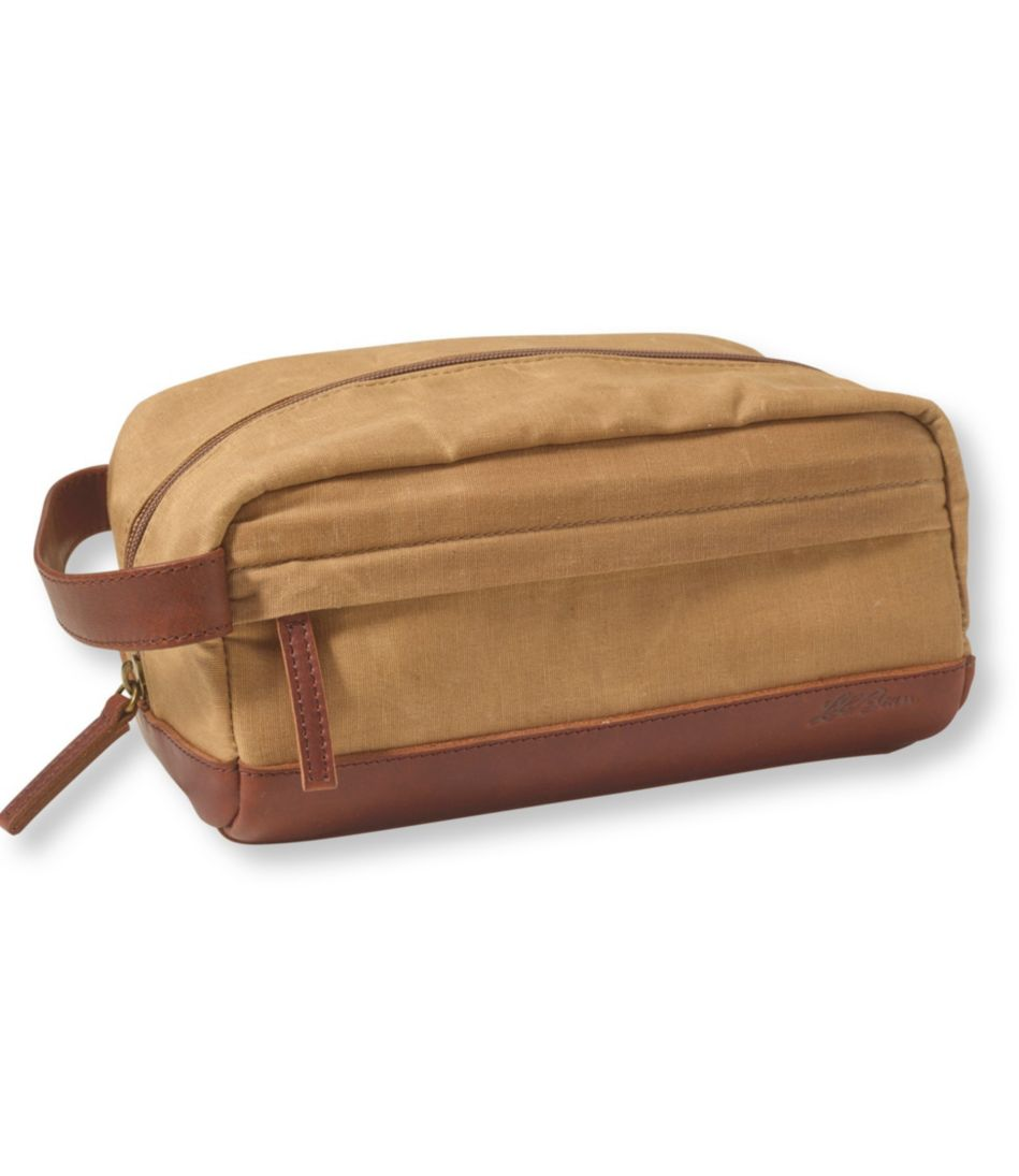Heritage Waxed-Canvas Toiletry Kit