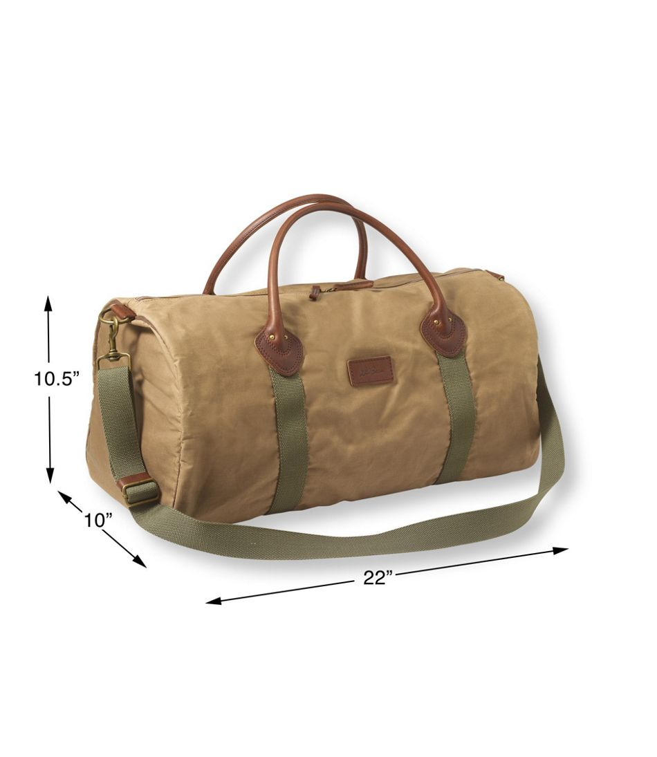 93ac3698fd75 Heritage Waxed-Canvas Duffle