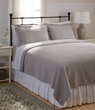 Diamond Stitch Matelassé Coverlet