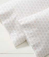 Ultrasoft Comfort Flannel Pillowcases, Stenciled Daisy Set of Two