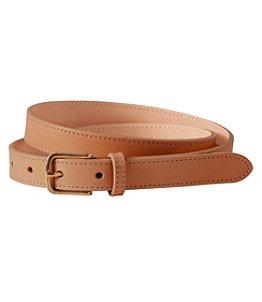 """Women's Leather 3/4"""" Belt"""