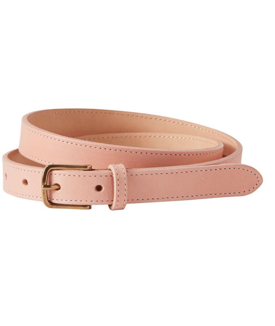 """Leather 3/4"""" Belt Misses Regular"""