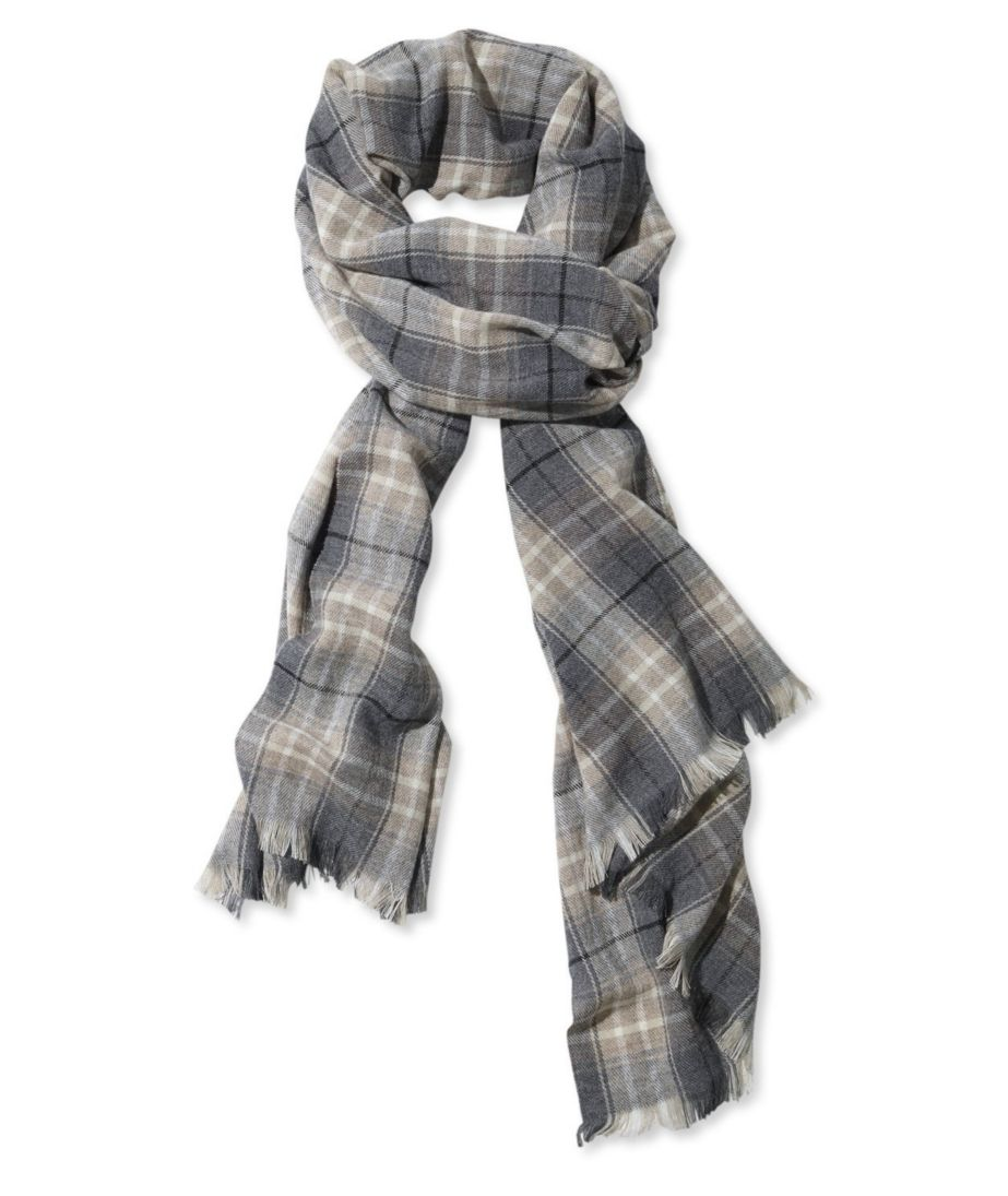 Signature Wool-Blend Scarf