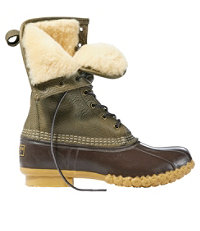 Signature Tumbled-Leather L.L.Bean Boots, 10