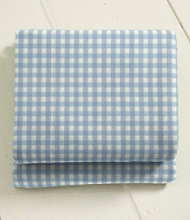 Ultrasoft Comfort Flannel Sheet, Fitted Gingham