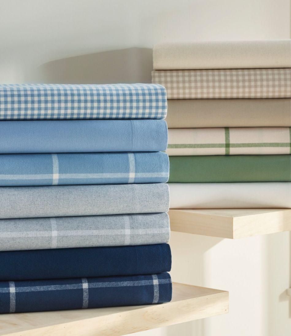 Ultrasoft Comfort Flannel Sheet Set, Gingham