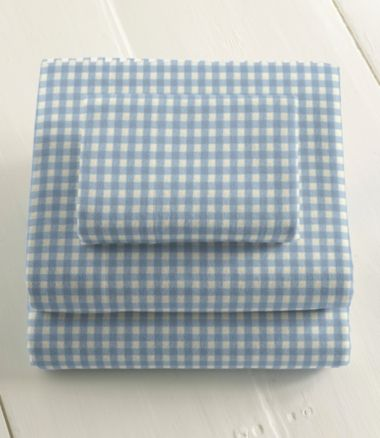 Ultrasoft Comfort Flannel Sheet Set, Gingham