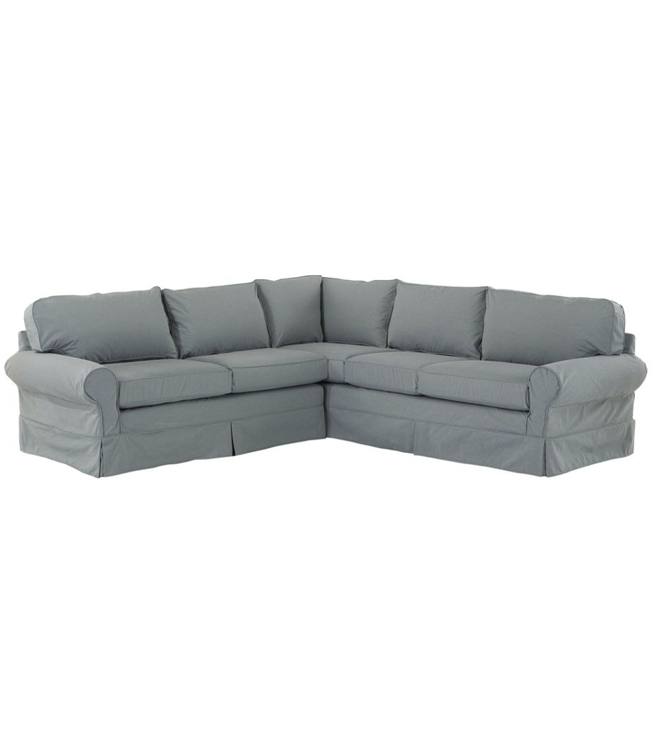 Pine Point Slipcovered Sectional