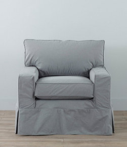 Portland Swivel Rocker and Slipcover