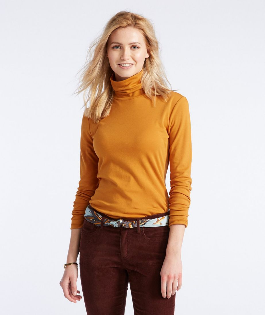 Signature Cotton Turtleneck